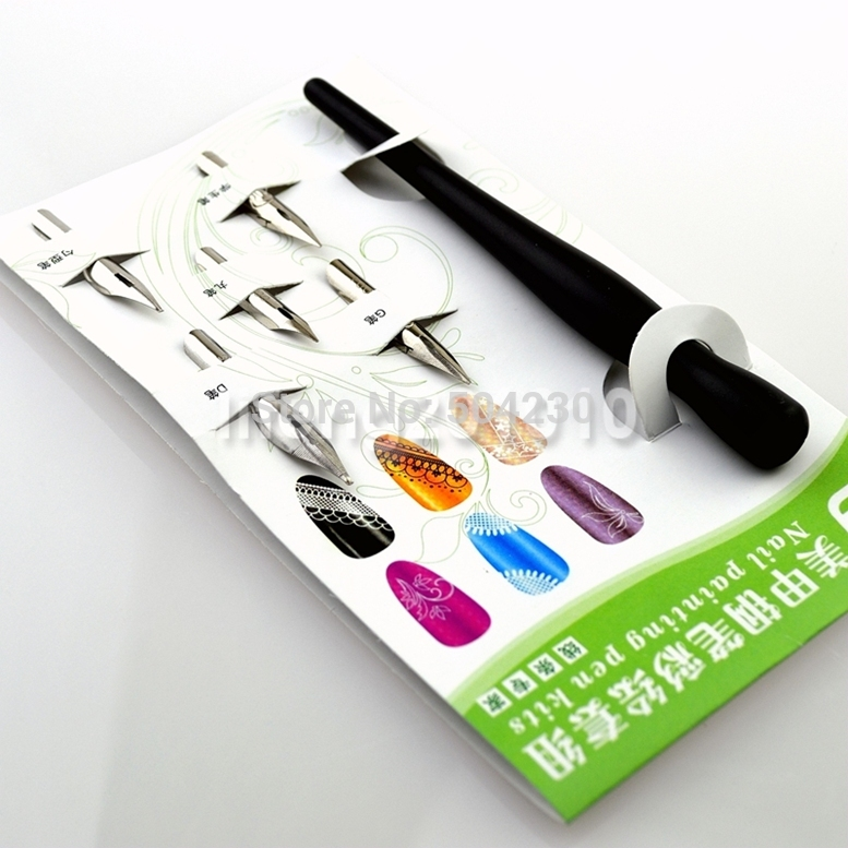 Professional Acrylic Nail Art Painting Fountain Pen Kit Liner Drawing Tools In Equipment From Beauty Health On Aliexpress Alibaba