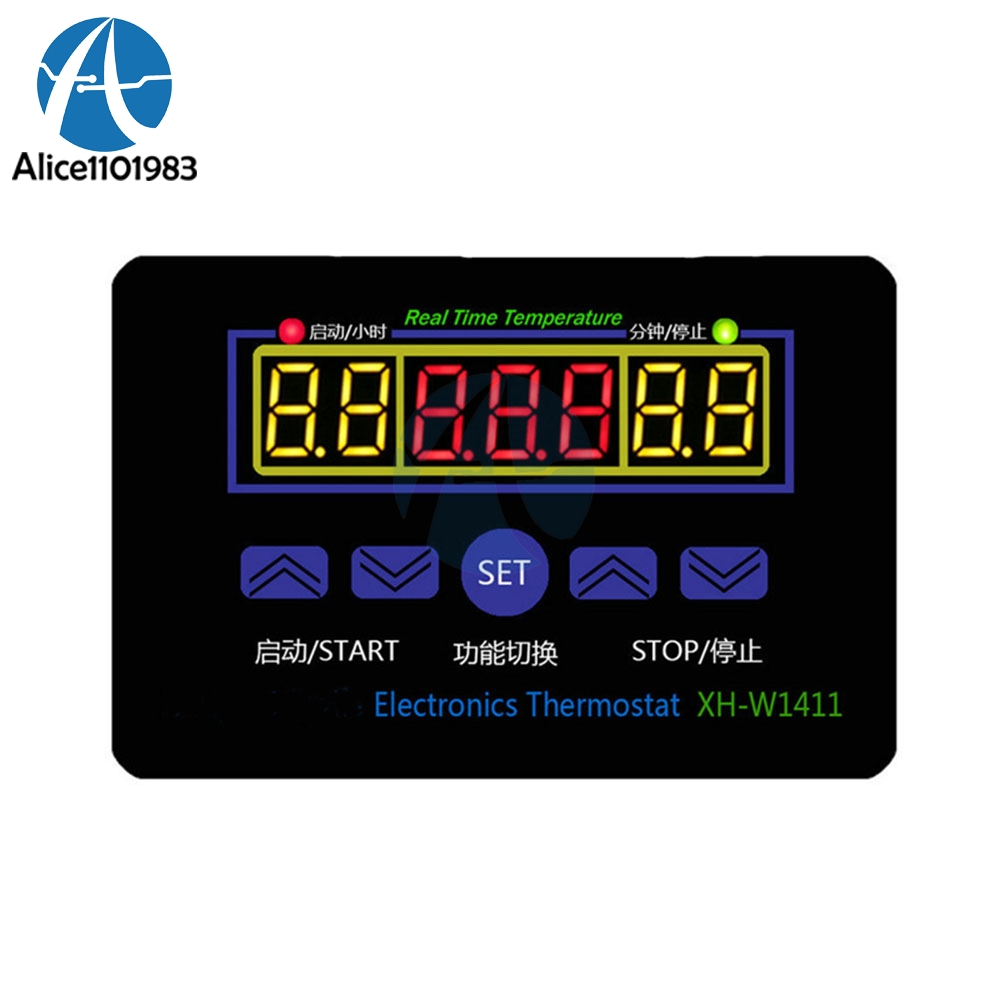 55-120°C DC 12V Digital Temperature Controller H50TR LED Temp Thermostat Switch