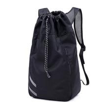 Actearlier 2018 mais novo futebol mochila de futebol especial cordão saco  de basquete maior mochila à prova d água dropshipping 334bc4ea47d14