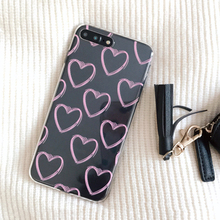 Love Heart Phone Case iPhone 5 5S SE 6 6S 7 8 Plus X Xs Max XR XS
