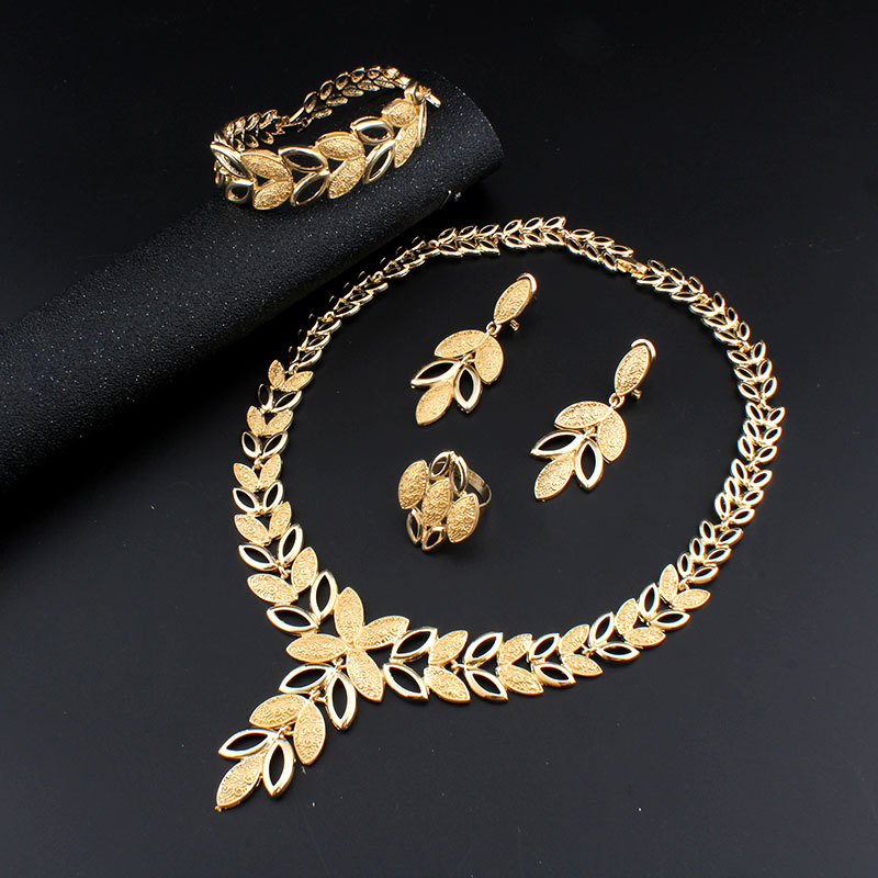 Luxury Floral Jewelry Set Jewelry Jewelry Sets Women Jewelry