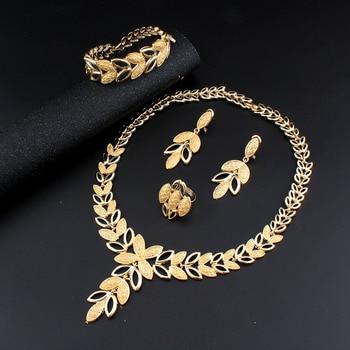 Leafy Lucy jewelry set