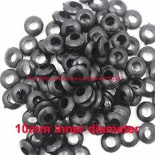 10 мм внутренний диаметр резиновый проводки дыры затыкают кабель уплотнение прокладка кольцо провода прокладка