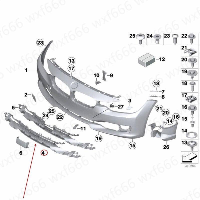 Filet de ventilation pour pare-chocs avant grille d'admission inférieure F35b mw316LIFront filet d'entrée d'air pour pare-chocs avant filet de vent décoratif