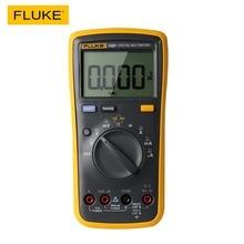 Fluke multímetro digital 15b +, multímetro digital faixa automática 4000 contagens ac/dc resistência à tensão, medidor de capacitância testador de frequência