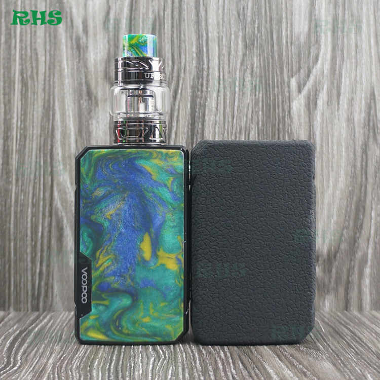 2019 Hot!!!RHS Silicone Case Cover Sleeve for Voopoo drag 2 177W 13 colors for choice Kit free shipping