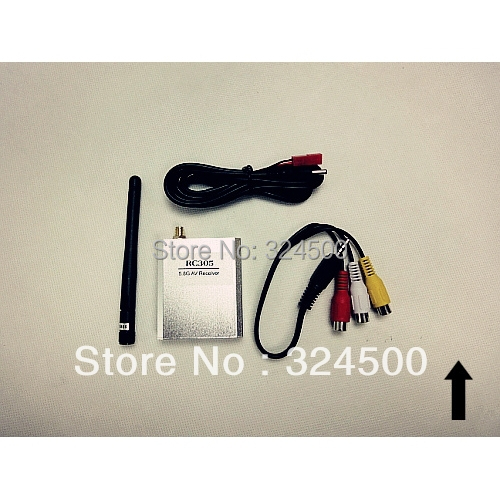 Discount FPV Radio Remote Control Audio Video AV Wireless Receiver 5.8Ghz RC305 Kit For Sale Remoter RC Airplane Parts Accs 5.8G