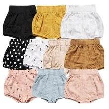 Hooyi/модные штаны для маленьких девочек детские трусики из плетеной ткани повседневные хлопковые летние штаны для малышей, брюки для мальчиков, одежда для детей