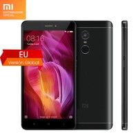 Global Version Xiaomi Redmi Note 4 Mobile Phone Snapdragon 625 Octa Core 5.5 inch 4GB RAM 64GB ROM 13.0MP Camera Fingerprint ID