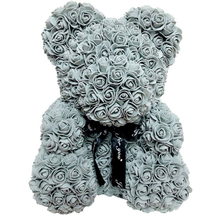 Artificial-Flowers Rose-Bear Foam-Rose Birthday-Party Teddy Day-Gift Plastic Multicolor
