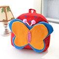 Bonito dos desenhos animados saco pequeno saco de lona bolsa de bebê Duplo ombro borboleta girassol mochila boneca saco forma