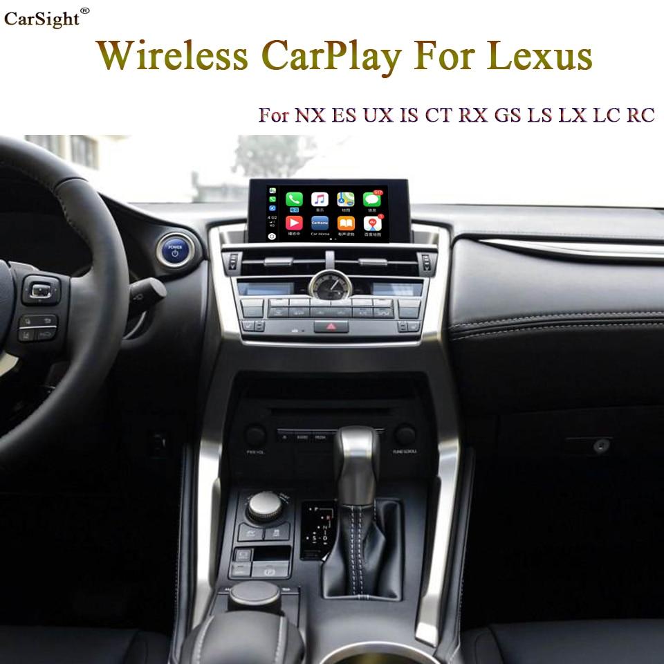 Интерфейс автомобильной камеры для Lexus IS Enform system 2018 2019 Siri Голосовая I ручка приводного механизма сенсорная панель управления CarPlay
