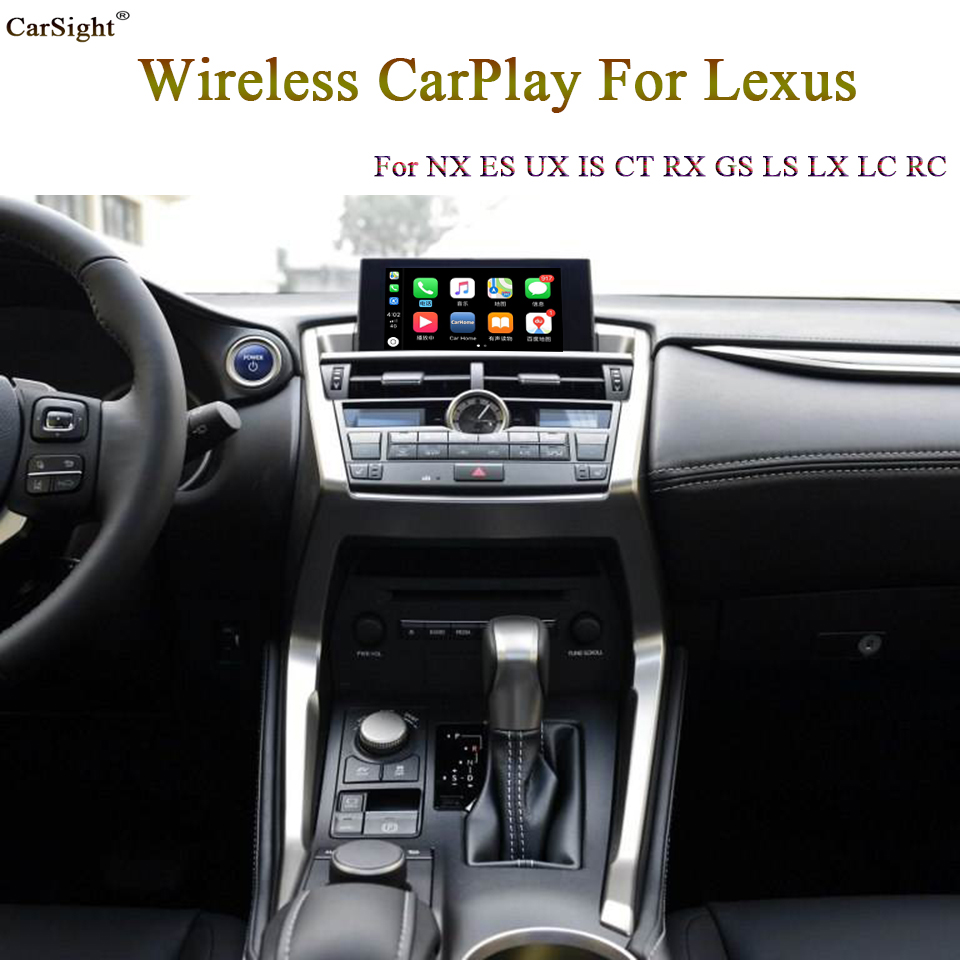 (Touch Pad Type ) New Released Wireless Apple CarPlay for Lexus ES NX UX IS CT RX LC Support Android Auto WiFi iPhone App image