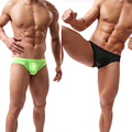 New Soft Cotton Sexy mens underwear briefs Seamless Low Waist Bikinis briefs Underwear M L XL #V2606