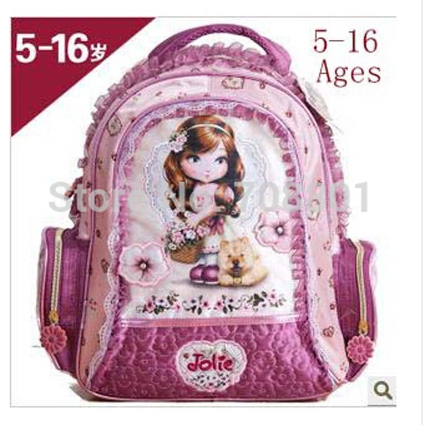 Purple Mom Backpack, Tas Bahu dengan Lacework, Thicken Strap Mommy Bag, dapat digunakan sebagai Girls Backpack