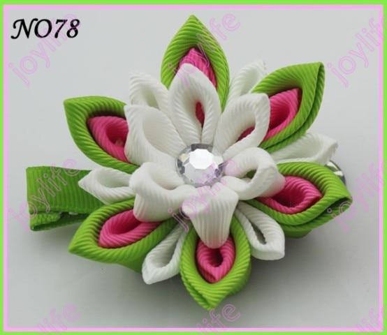 280 шт. 2.5-3' 'цветок канзаши заколки значок катушка заколки для волос