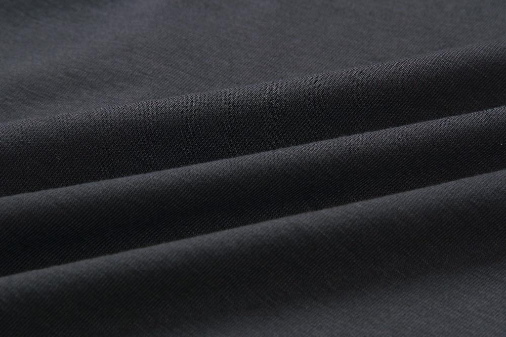 19 New Summer Fashion Women Casual Short Sleeve O-Neck Straight Black Gray Blue Dress Loose Plus Size Pocket Cotton Midi Dress 38