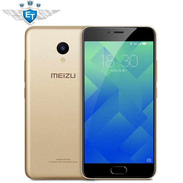 Оригинал Meizu M5 5.2 дюймов 1280x720 Экран смартфон MTK6750 Восьмиядерный 13MP 3 ГБ Оперативная память 32 ГБ глобальный Встроенная память mTouch2.1 отпечатков пальцев