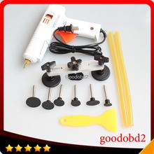 PDR Tool Set Paintless Dent tools Adjustable Bridge Puller Paintless Remover Pulling Bridge with glue gun glue sticks car scrape