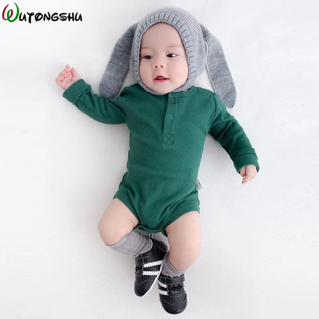 Baby Boys Girls Rompers Long Sleeves Spring Winter Fashion Roupas de bebe Clothing Newborn Overall New Born girls Boy Clothing