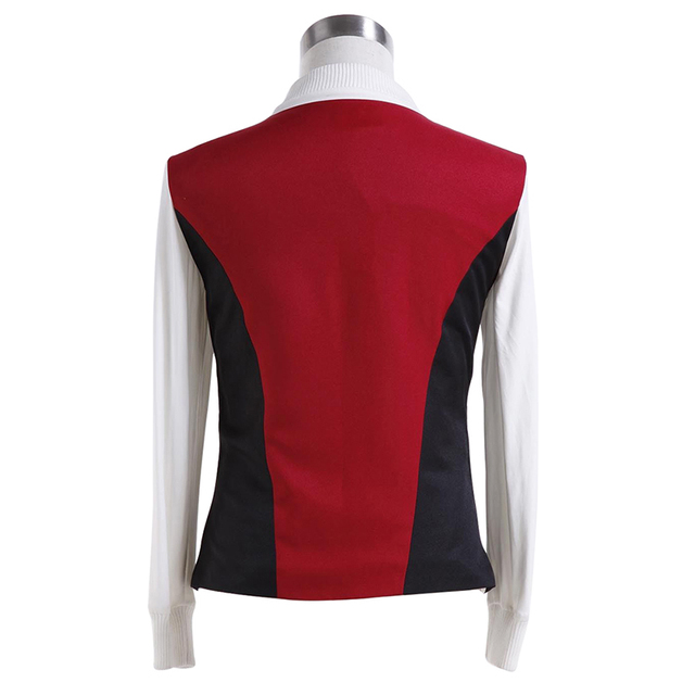 Star Trek Kirk Ribbed Shirt Red Black Vest Cosplay Costumes  3