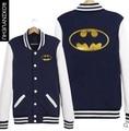 New Batman Jacket Men Leisure  Best Quality,Black/Navy Blue  Coat   BQ006