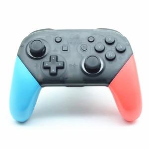 Image 3 - כחול אדום Nintend מתג פרו בקר אנטי להחליק אחיזת נקודת פגז החלפת ידיות כיסוי עבור NS NintendoSwitch פרו אבזרים