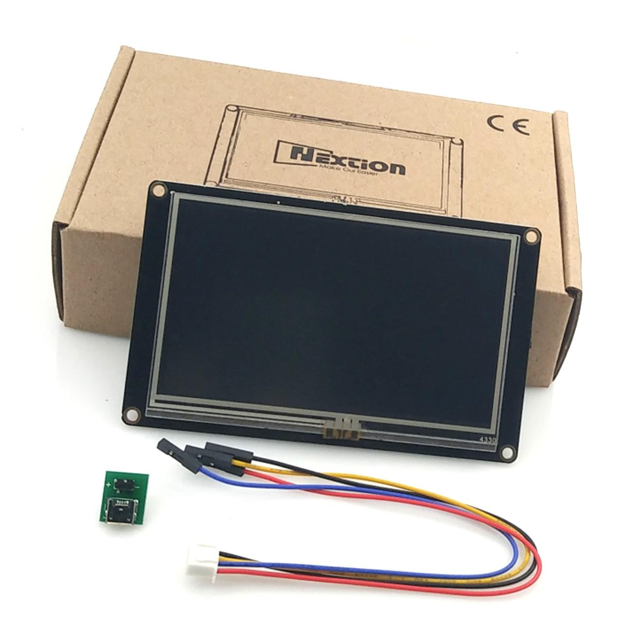 Nextion 4.3 Enhanced HMI Intelligent Smart USART UART Serial Touch TFT LCD Module Display Panel For Raspberry Pi Kits