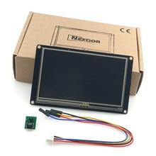 Nextion 4,3 Panel de visualización para Raspberry Pi, módulo de pantalla táctil TFT LCD, UART inteligente mejorado HMI
