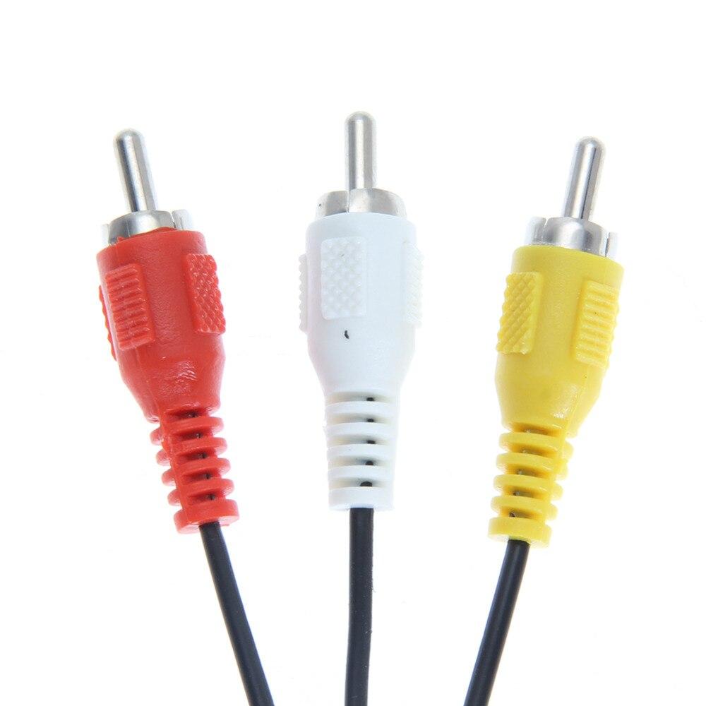 1.8m 6FT AV TV RCA video vadu kabelis spēļu kubiem / SNES GameCube - Spēles un aksesuāri - Foto 3