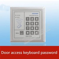 real life Secret room escape room prop Entrance guard Keyboard password Key unlocking IC card unlock game with sound