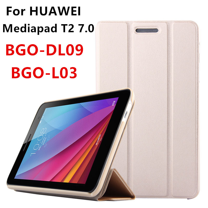 Case Cover For Huawei Mediapad T2 7 0 BGO DL09 L03 7 Cases Smart cover Protective