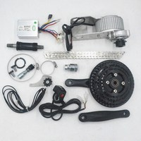 36V 350W electric motor conversion kit bicycle center motor engine for change Multi speed bicycle bike to ebike