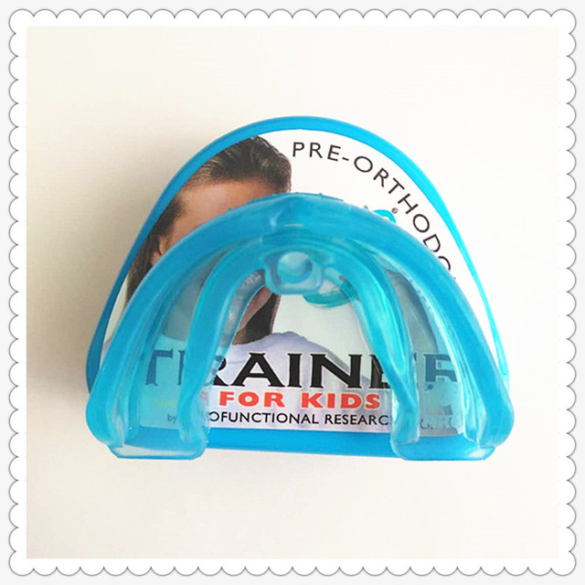 Orthodontic Brace t4k/Kids pre-orthodontic trainer T4K/MRC trainer t4k dental teeth trainer appliance/ T4K blue Phase I