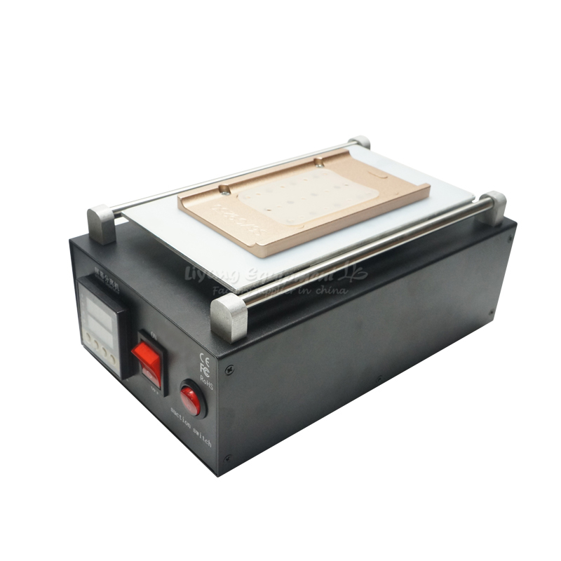 LY 947 V.6 Air Pump Vacuum LCD screen Separator Machine phone repairing with mould S6 S6+ S7 S8 S8+ EDGE 8 inch lcd separator ly 947 v 3 pro inner vacuum pump built in uv solid light for all phone