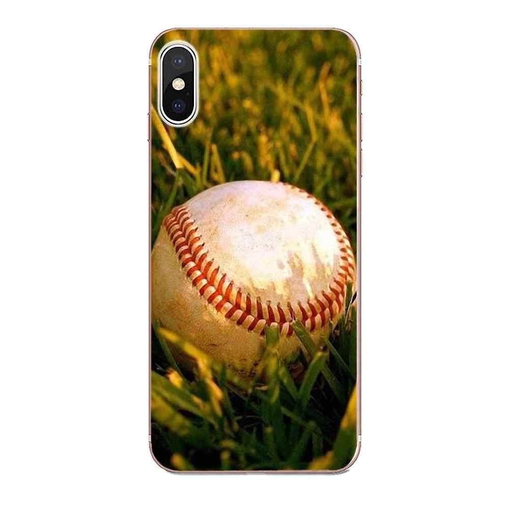 Aşk Beyzbol Spor Için Huawei P7 P8 P9 P10 P20 P30 Lite Mini Artı Pro 2017 2018 2019 Yumuşak TPU özel Tasarım