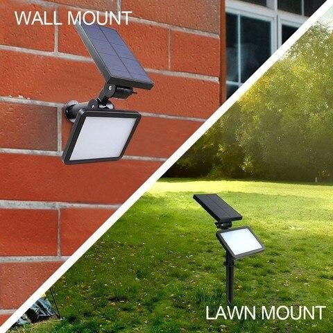 ar livre ip56 a prova dwaterproof agua patio caminho lampada parede