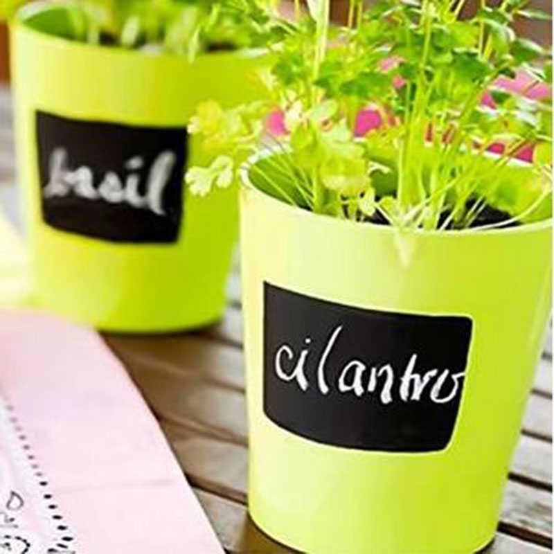 80 Pack Large Removable DIY self adhesive Chalkboard Labels with 1 Erasable Chalk Markers Perfect for Jars and Canisters in Wallpapers from Home Improvement