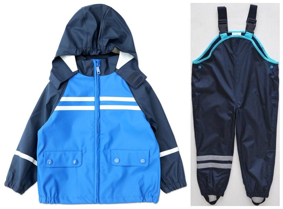 Girls Clothing Sets Retail Trade Explosion Models Boy Child Suit (green Dinosaur Jacket + Bib) free Shipping In Stock