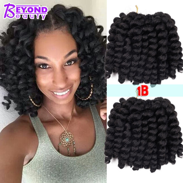 9colors Bounce Wand Curls Jamaican Twist Freetress Loose Wave Synthtic Hair Extensions Bouncy