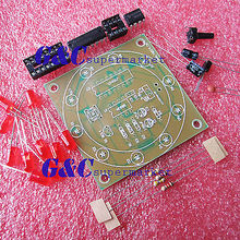 Electronic Lucky Rotary Suite DIY Kits Production Parts And