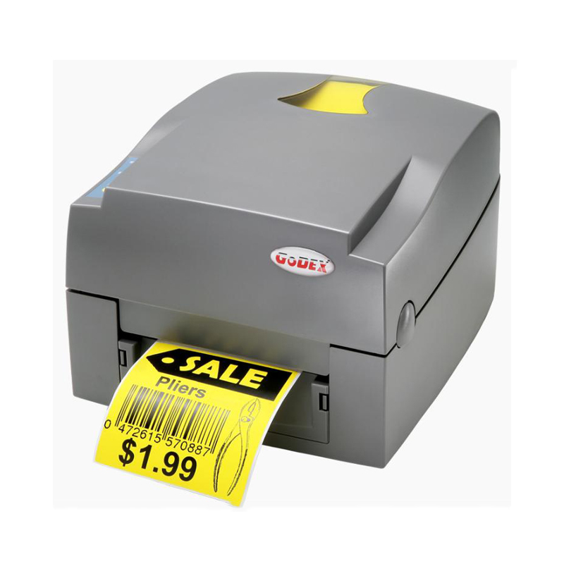 Sticker printer machine thermal transfer label printer with USB, serial, parallel port to print jewelry tag and barcode label packaging and labeling