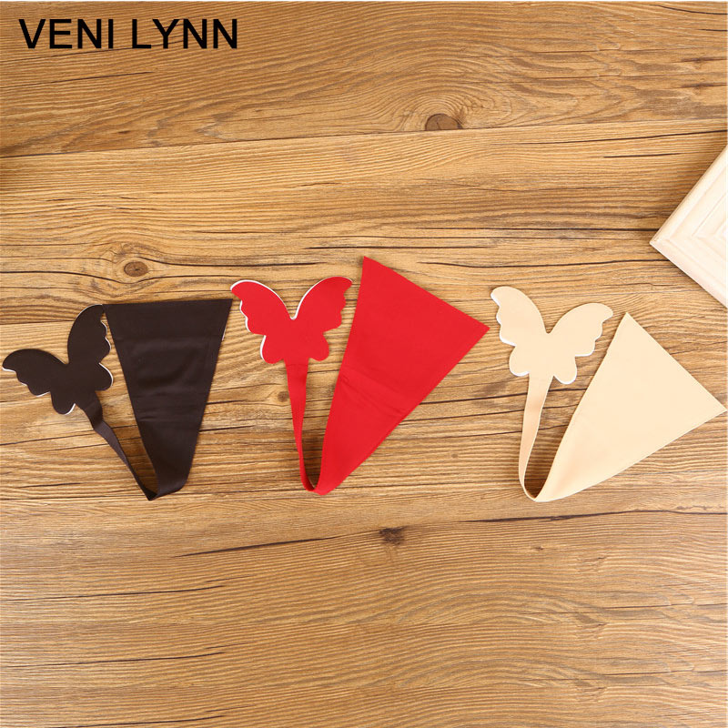 f2a79ed0e4f VENI LYNN Butterfly Shaped Sexy Women Invisible Underwear C String Panties  Lingerie G-String Knickers C-String Thongs