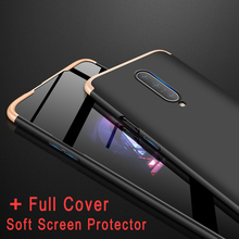 For Oneplus 7 Pro Case 3 In 1 Full Body Protective Anti Drop Hybrid Armor+Full Cover Soft Screen Protector case