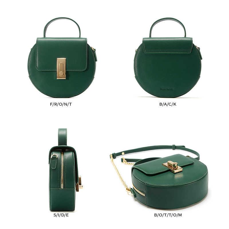 9b7d800ecade ... EMINI HOUSE Flap split кожаные сумки с ручкой сверху с цепочкой на  ремне женская сумка через ...