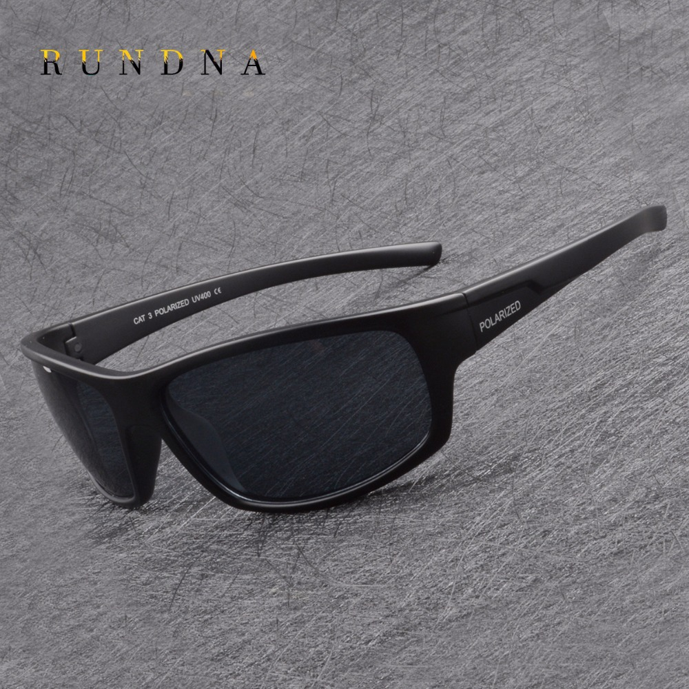 Rundna Polarized Cycling Sunglasses Bike Riding Goggles Mens Running Driving Fishing Golf Outdoor Sports Sunglasses UV400