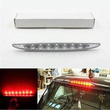 Блестящий Красный 8-LED High Mount Третий третьего Фонаря сигнала торможения Для 02-06 MINI Cooper R50 R53 автоматический свет хвост заднего тормозного стоп предупреждение свет