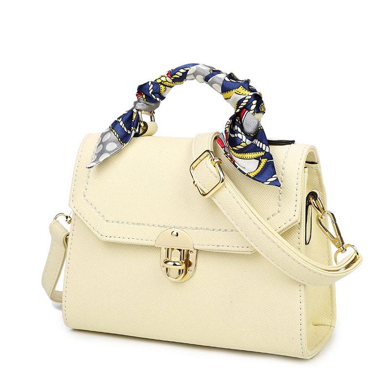 Small Shoulder Bag 2016 New Korean Style Trendy Concise Crossbody Bag Fashion Push Lock Flap Bag