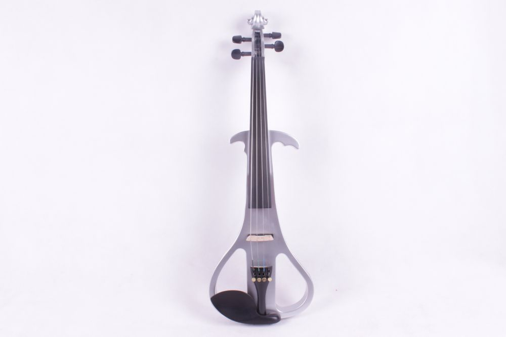4/4 Electric Violin Silent Pickup Fine tone Solid wood3# the item is the color can choose color one 4 string 4 4 violin electric violin acoustic violin maple wood spruce wood big jack green color