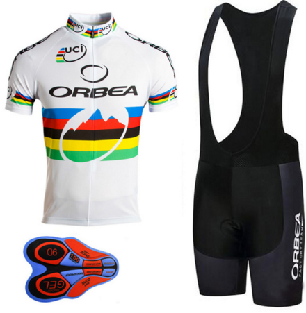 2017 pro team ORBEA cycling jersey MTB Bike Clothing men s Summer quick dry racing  bicycle clothes ropa ciclismo hombre-in Cycling Sets from Sports ... 8deb88e00
